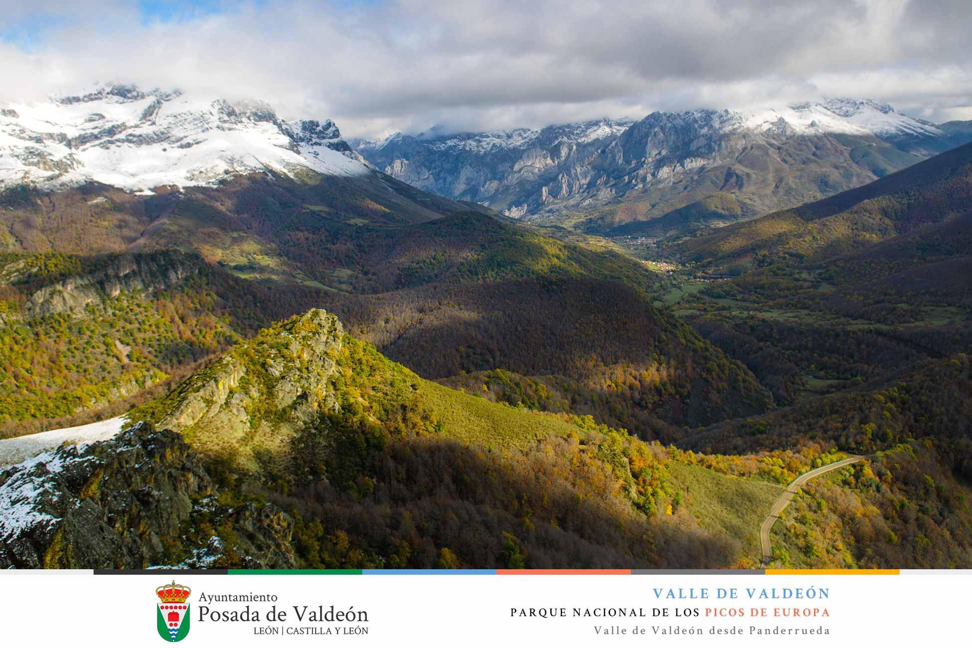 Valle de Valdeón desde Panderrueda